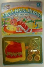 MY LITTLE PONY MLP Vintage G1 Royal Queen Outfit Clothes Hasbro 1983 MOC