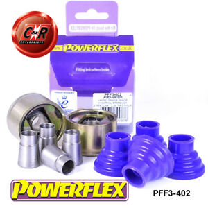 PFF3-402 Powerflex For Audi 100 4WD, Est 10/84-11/90 Fr InCtrlArm-Chass Bushes