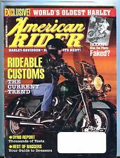 American Rider Magazine August 1997 Dyno Report VG No ML 042917nonjhe