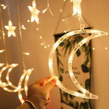 3.5M LED Mond Stern Fairy Schnüre Ramadan Urlaub Dekoration Licht 4 Wählen Sie
