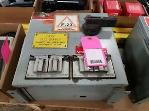 DAYKIN TRANSFORMER DISCONNECT GPFS-03