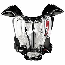 M Medium EVS Vex Chest Protector Hard Armour Motorcross Clear Black