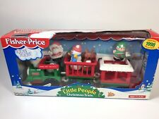 Fisher Price Little People Christmas Train Vintage Toy Unopened 1998