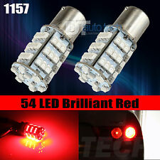 4X 1157 Red SMD LED Turn Signal Brake Light Bulbs
