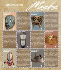 Micronesia- Masks Stamp - Sheet of 6 MNH