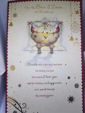 BEAUTIFUL TO ''ONE I LOVE'' CHRISTMAS GREETING CARD