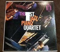 """Vintage 1959 """"The First Jazz Piano Quartet"""" PROMO LP- Warner Bros. (W-1274) EX+"""