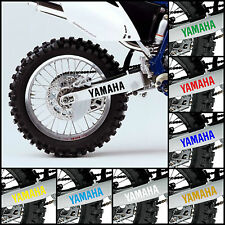 2x Yamaha Adesivo Decalcomania del forcellone Graphic OEM Style wr250f wr450f Fondale WRF YZF 250 450