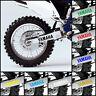 2x YAMAHA Swingarm Decal Sticker Graphic OEM Style WR250F WR450F WRF YZF 250 450