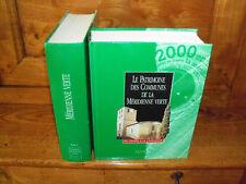 Le Patrimoine des communes de la méridienne verte 2 volumes - Flohic 2000