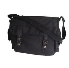 Mens Ladies Shoulder Messenger Military Vintage Bag Army Haversack Retro Satchel
