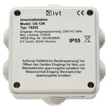 Automatischer Strom Netz Umschalter Generator PV Spannungswandler IVT US-12N
