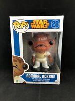 Star Wars Blue Box  Admiral Ackbar  Funko Pop Vinyl