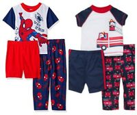 New Little Me and Marvel Spiderman Little Boys 3 Piece Pajama Set