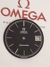esfera o dial omega seamaster automatico 1012.negro.nueva stock restaurada