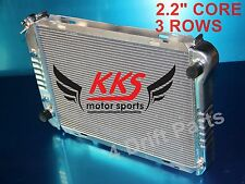 KKS 3 ROWS ALL ALUMINUM RADIATOR FIT FORD MUSTANG 80 81-93 AT DIE FORMED TANK
