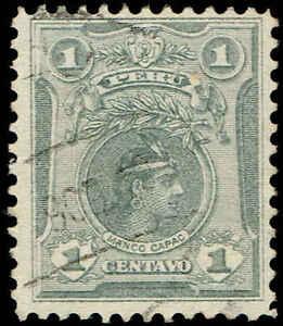 Scott # 177 - 1909 - ' Manco Capac '