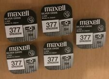 10 x Maxell SR626SW SR626 AG4 377 1.55v Silver Oxide Watch Coin Batteries Sale