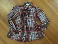 crazy 8 by Gymboree Plaid Shirt Size:7/8 GUC