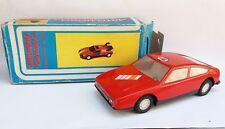 VINTAGE VERY RARE FRICTION PLASTIC TOY SPORT CAR + BOX
