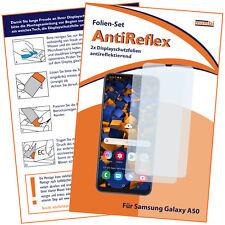 mumbi 2x Folie für Samsung Galaxy A50 Schutzfolie Displayschutzfolie Schutz matt