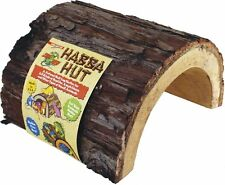 Zoo Med Habba Hut Reptile Hide Lizard Snake Turtle Natural New