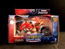Vintage Sega All- Stars Racing Vehicle Jazwares Knuckles Action Figure Sonic