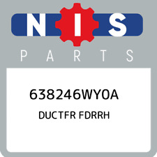 638246WY0A Nissan Ductfr fdrrh 638246WY0A, New Genuine OEM Part