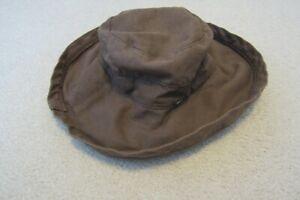 Brown SCALA COLLEZIONE Women's Beach Floppy Brim Hat  One Size fits all