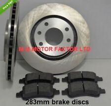 PEUGEOT 307 1.4 1.6 2.0 HDi 16v (01-08) FRONT BRAKE DISCS AND PADS SET