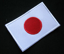 JAPAN NIPPON JAPANESE NIHON FLAG Sew on Patch Free Postage