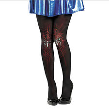 Spider-Girl Pantyhose Adult Costume Stockings Size: One Size Fits Most Adults 39