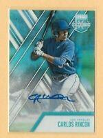 2017 Panini Elite Extra Edition Rookie # 131 Carlos Rincon Autograph - Dodgers