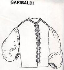 1860's GARIBALDI BLOUSE PATTERN Period Impressions 414 Size 6-8-10