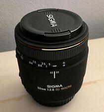 Sigma EX DG Macro 50mm f/2.8 AF Lens For Canon