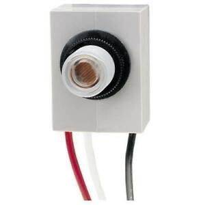 Intermatic K4021C Button Thermal Photo Control Flush Mount 120V 14448