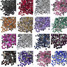 1000 Crystal Flat Back Rhinestones Gems Diamante Bead Nail Art Crafts 1.5mm- 6mm