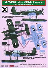 KORA Decals 1/48 ARADO Ar-196 Floatplane Bulgarian Air Force