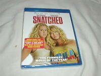 Snatched (2017) BLU-RAY+DVD NEW Amy Schumer Goldie Hawn Wanda Sykes Sealed