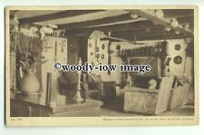 tp9332 - Cornwall - The Lounge of the Noughts & Crosses Inn, Polperro - postcard