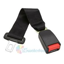 "14"" Universal Car Seat Belt Extension Extender Strap Safety Buckle 7/8"" Buckle"