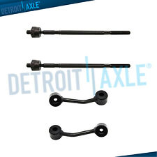 New 4pc Kit: 2 Inner Tie Rod + 2 Front Sway Bar End Link for Sprinter 2500 3500