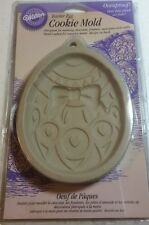 Wilton Cookie Mold Ovenproof Easter Egg Chocolate Soap Wax Paper Hand Cast Craft