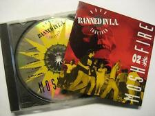 Banned a Los Angeles-band together-Mosh on Fire-PMRC Records Sampler-CD