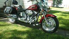Harley Davidson Softail Fatboy FLSTF 2007 Chrome Wheels Rims Exchange Sale