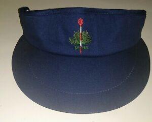 MERION Golf Club-Vintage TEXACE Cotton Golf Visor-NEW