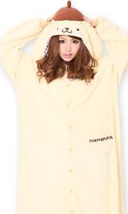 Sanrio Pompom Pudding Fleece Kigurumi Cosplay Costume Japanese SAZAC New