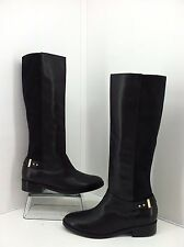 "Cole Haan ""Adler"" Black Leather Tall Knee High Boots. Size 8.5 M Style D40521"
