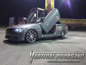 BMW 6 Series 2003-2010 Bolt-On Vertical Lambo Doors Kit BY VRETICAL DOORS INC.