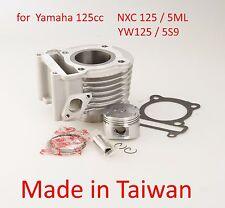 Top end rebuild cylinder kit piston Yamaha BeeWee 125 4V 4T YW125 BWS 125 US